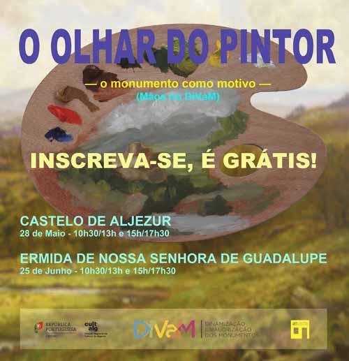 Pintura de Ar Livre nos monumentos do Algarve