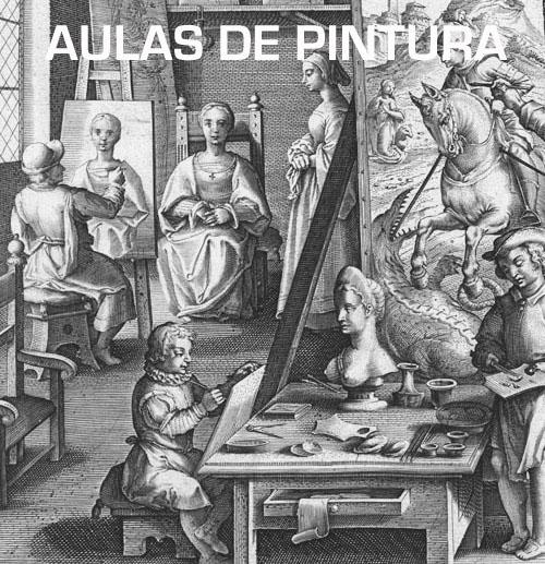 aulas de pintura em faro, pintura a óleo, aulas de desenho