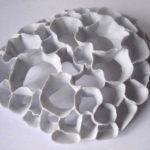 objecto de porcelana de Teresa Ramos exposto na Artadentro em Faro
