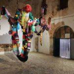 escultura de Joana Vasconcelos na exposição colectiva Tractor em Faro Capital da Cultura 2005