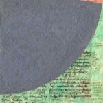 Pintura de João Queiroz na exposição Prólogo :- exposiçaõ colectiva de Desenho, realizada em Vila Real de Santo António, no Arquivo Municipal