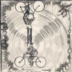Desenho de Jorge Queiroz na exposição Prólogo :- exposiçaõ colectiva de Desenho, realizada em Vila Real de Santo António, no Arquivo Municipal