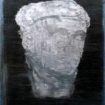desenho de Paulo Brighenti exposto na Artadentro em Faro