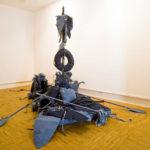 escultura de Pedro Valdez Cardoso exposta na Artadentro em Faro
