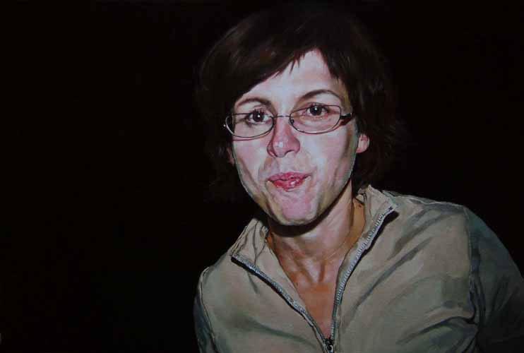 Exposição de Arlindo Silva na Artadentro em Faro, pinturas a óleo sobre tela