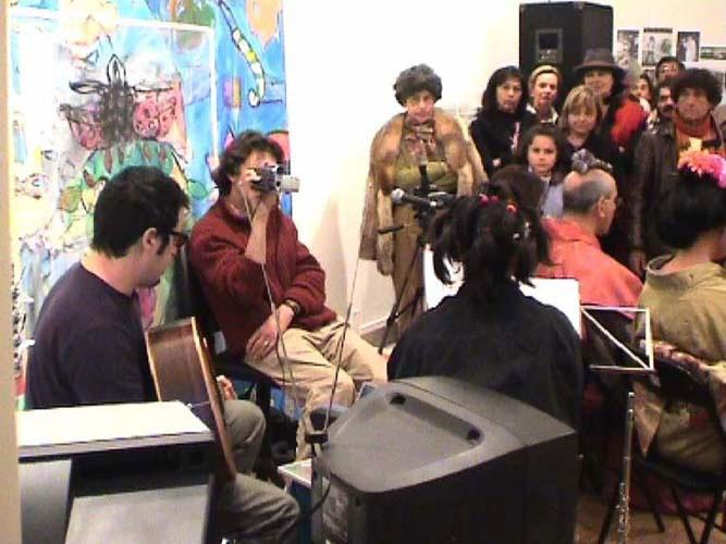 Performance de Fernando Pinheiro com Viviane e Tó Viegas na Artadentro em Faro