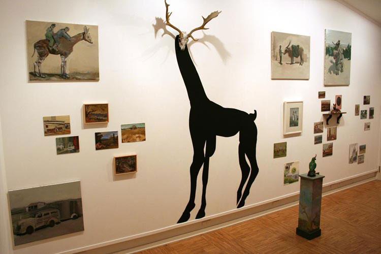 """""""Animal Carnival"""" exposição de pintura de Tomás Colaço na Artadentro"""