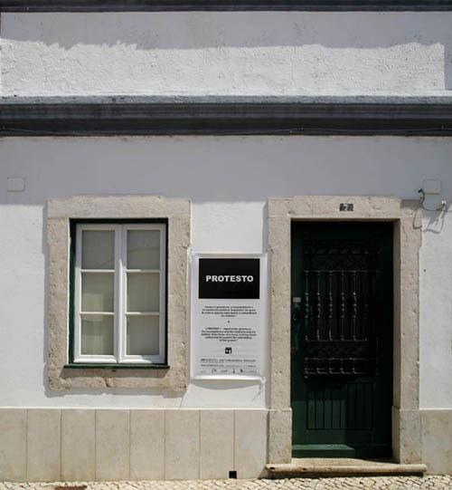 Protesto na Artadentro em Faro