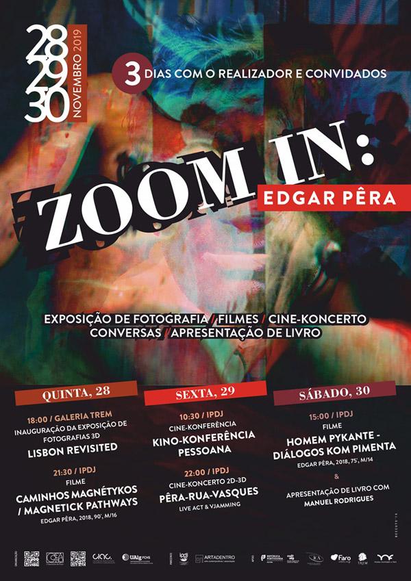 zoom-in: Edgar Pêra em Faro, Novembro 2019